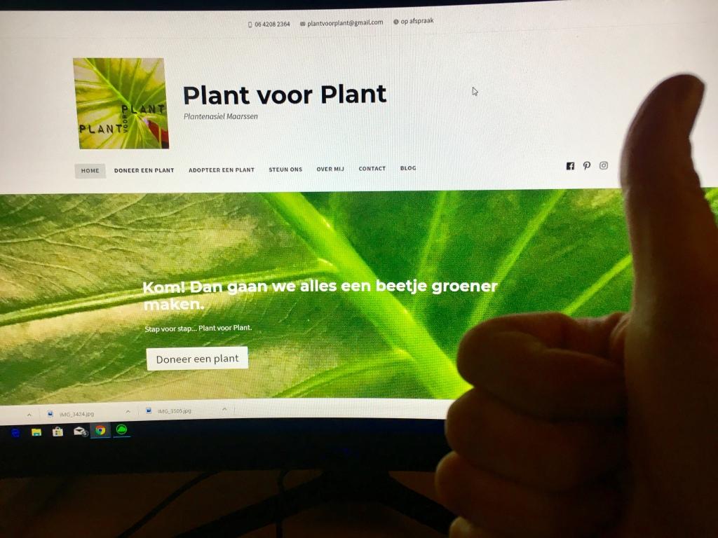 Plant voor Plant website lancering
